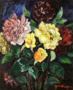 Bouquet Of Flowers - Kees van Dongen