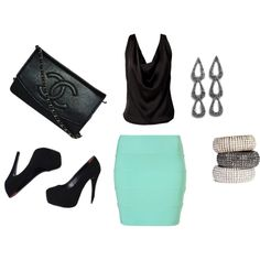 Sexy dinner date outfit
