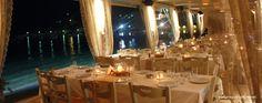 a Romantic Wedding Decoration in Syros island, Greece. Wedding Decorations, Table Decorations, Table Settings, Romantic, Home Decor, Decoration Home, Room Decor, Wedding Decor, Place Settings