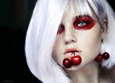 Creative Portraits by Cristina Otero | Cuded | #Fruit #Cherry