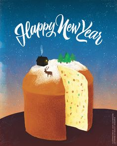 Happy new year - lucia calfapietra