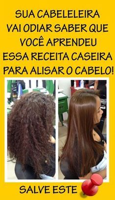 Como Alisar o Cabelo Naturalmente em Casa Your Hairdresser Will Hate To Know That You Learned This H Mayonnaise Hair Mask, Curly Hair Styles, Natural Hair Styles, Beauty Treats, Healthy Hair Tips, Natural Shampoo, Lace Hair, Hair Care Tips, About Hair