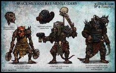 Warhammer 40000,warhammer40000, warhammer40k, warhammer 40k, ваха, сорокотысячник,Wh Песочница,фэндомы,Mutant,Rat-men