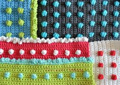 Polka dot Crochet Tutorial and Video         |          Ilaria Lercari