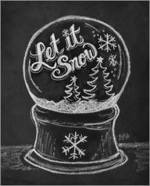 Let It Snow Globe - Note Card from Lily & Val. Saved to chalkboard . Shop more products from Lily & Val on Wanelo. Kitchen Chalkboard, Chalkboard Lettering, Chalkboard Designs, Chalkboard Ideas, Summer Chalkboard, Chalkboard Art Quotes, Chalkboard Walls, Chalkboard Baby, Chalkboard Drawings