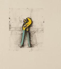"jim dine | Jim Dine. ""Channel Lock Pliers (from Ten Winter Tools)."" ca. 1973"