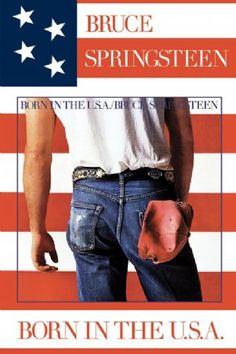 Carátulas de música Frontal de Bruce Springsteen - Born In The Usa. Portada cover Frontal de Bruce Springsteen - Born In The Usa Bruce Springsteen Albums, Springsteen Concert, Bruce Springsteen The Boss, The Velvet Underground, Iconic Album Covers, Cool Album Covers, Music Covers, Classic Album Covers, Classic Rock