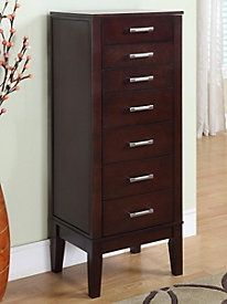 Chic jewelry armoire