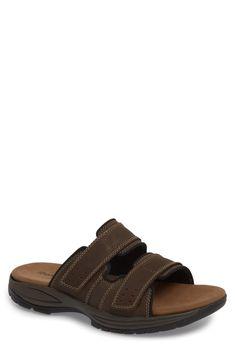 Men's Dunham Newport Slide Sandal, Size 16 EEEEEE - Brown