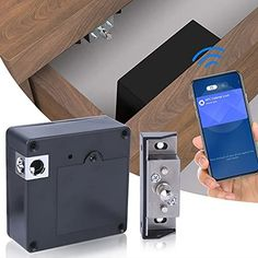 Hidden RFID Cabinet Lock Hidden Cabinet, Cabinet Drawers, Cabinet Doors, Diy Lock, Secret Hiding Places, Weapon Storage, Wooden Cabinets, Diy Kits, Android