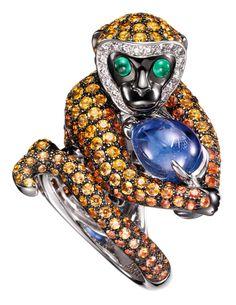 Boucheron - Bubu- Monkey Ring