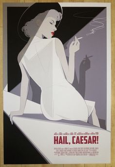 "2016 ""Hail, Caesar!"" - Silkscreen Movie Poster by Craig Drake"