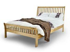 Metal Beds Ltd Ashton Oak Wooden Bed Frame