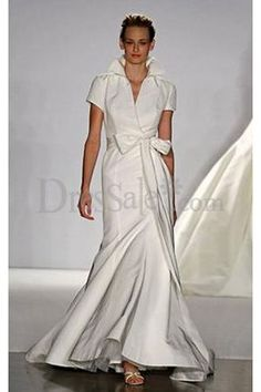 High Collar Neckline for Wedding Gowns with Sash