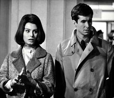 The actors Sophia Loren and Anthony Perkins in a scene of the film. Sophia Loren Images, Anthony Perkins, Pictures Images, Che Guevara, Acting, Scene, Film, Lady, Celebrities