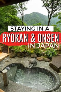 Headed to Japan? Stay in a Traditional Japanese Ryokan Onsen! Get all the Ryokan and Onsen etiquette tips, differences to a hotel, and best Inns in Japan. Japan Travel Guide, Tokyo Travel, Asia Travel, Travel In Japan, Slow Travel, Spain Travel, Travel Packing, Wanderlust Travel, Travel Backpack