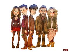 Doctor Who 50th anniversary!well this is adorable. and perfect.