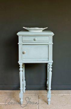 annie sloan antibes green painted furniture | Annie Sloan Chalk Paint and Hand Painted Furniture | Dovetails Vintage