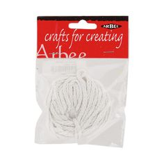 Arbee Light Weight Candle Wick White 5 m