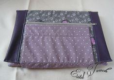 housse tablette violet