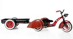 "Kid Kustoms Roddler: The ""Hot Rod"" Stroller - Tins For Tots 