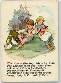1964 bambole flauto poesia Akimmagini bambino artista carta nostalgia 3RjA54L