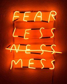 Fear less mess . Orange Aesthetic, Rainbow Aesthetic, Aesthetic Colors, Aesthetic Pictures, Aesthetic Beauty, Orange Pastel, Orange Color, Tumblr Neon, Custom Neon