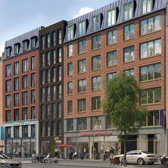 Condominium Architecture, Facade Architecture, Classic Building, Condo Design, Luxury Condo, Mountain Resort, Facades, Apartments, Amsterdam