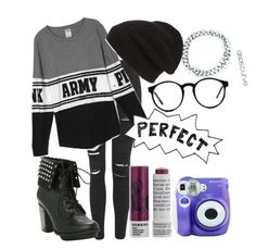 """""""Perfect"""" by boneca-costa ❤ liked on Polyvore featuring Topshop, Phase 3, Korres, Spitfire, ASOS Curve, Polaroid, women's clothing, women, female and woman"""