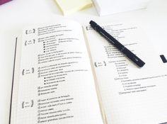 Sei extrem organisiert mit jeder Zeile, die Du schreibst. | 16 Tipps, um nur mit einem Stift und einem Notizbuch dein Leben auf den Kopf zu stellen