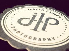 letterpress - can't believe my logo is on pinterest, not pinned by me! ha!