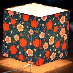 Papier japonais et lampe