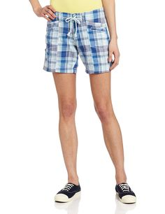 Unionbay Juniors Morgan Plaid Convertible 7-4-Inch Short *** You can get additional details at the image link.