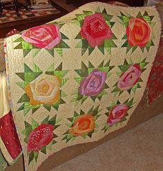 Gorgeous applique quilt