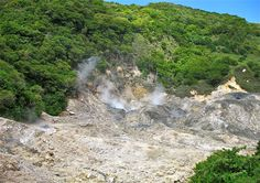 St. Lucia volcano, it was awesome but the Sulfur smell is intense!
