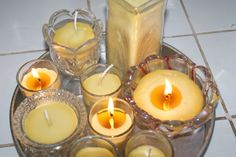 Making Beeswax Candles. Photo by Patti Long, FarmMade