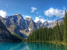 Moraine Lake from the dock [OC] [3984x2988] #nature #beauty