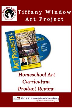 Read what Angie McFarren at H.O.P.E. Home School Consulting says about the Tiffany Window Art Project in her product review.