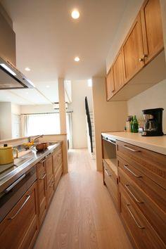 キッチン @ / みどりと風工房 施工実例