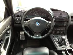 BMW e36 interior. Got gadget?