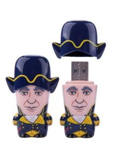 New Presidential flash drives from mimoco! Who better to protect your data better than George Washington?