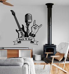 Home studio music room wall art 48 super ideas Home Studio Musik, Music Studio Room, Music Bedroom, Bedroom Wall, Mural Art, Wall Murals, Wall Decal, Studio Musica, Band Rooms