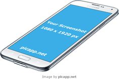 Add your mobile app screenshot image to an iPhone frame, iPad frame or Android device frame. Samsung Device, Samsung Galaxy S5, Mobile App, Perspective, Phone, Amazing, Blog, Image, Free