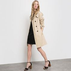 Image Trench long coton R essentiel