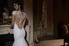 Berta bridal 2015 collection features form fitted wedding gowns with a lot of detail. This is perfect for the modern bride looking to wow. Fitted Wedding Gown, Wedding Dress Backs, 2015 Wedding Dresses, Bohemian Wedding Dresses, Bridal Dresses, Wedding Gowns, Fairytale Bridal, Berta Bridal, Gowns Of Elegance