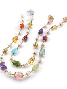 Seaman-Schepps-SN90Y-MULTI-Multi-Baroque-Necklaces-Multi-Gemstone