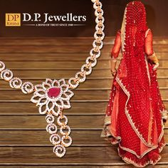 Twinkle- twinkle diamonds chain, Glittering like starry rain! Hey bride! Don't make your wedding so boring and plain! Take a ride on this jewellery train. #IndianWedding #DiamondJewellery #gold #tradition #rituals #GemstoneJewellery #ruby #bride #weddings #necklace #bangles #ratlam #indore #udaipur