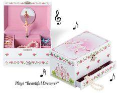 Ballerina Wind Up Musical Jewelry Box