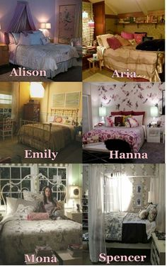 #PLL Love Mona's room
