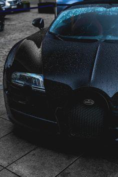 italian-luxury: Murdered Out Bugatti Veyron Vitesse WRC